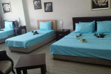 duble + iki tek yataklı